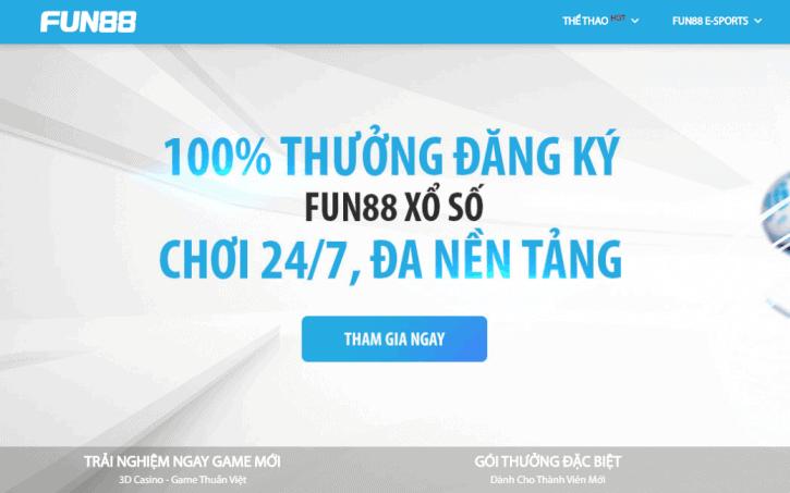 Fun88 - Link nha cai fun88 dang ky 2020