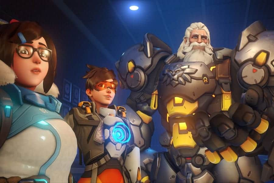 Tim hieu ve tuong Winston trong Overwatch